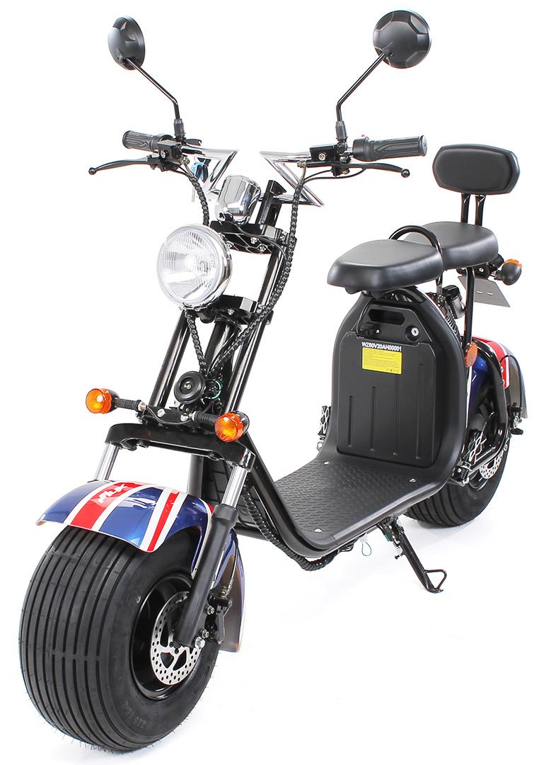 elscooter harley easy rider 1500w v greggad f r tv. Black Bedroom Furniture Sets. Home Design Ideas
