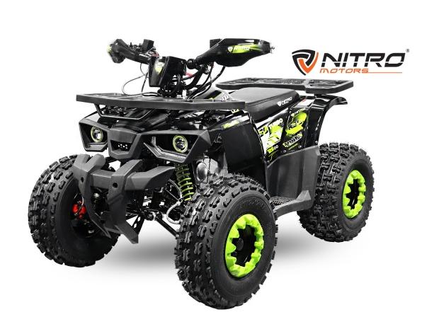 Nya fyrhjulingar och dirtbikes modeller från Nitro!